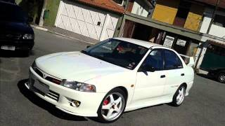 getlinkyoutube.com-Mitsubishi Lancer Glx (Evo 4) - Evolução