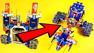 getlinkyoutube.com-LEGO NEXO Knights 70317 The Fortrex Alternative Build