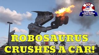 getlinkyoutube.com-Robosaurus at Seminole Casino in Hollywood, Florida