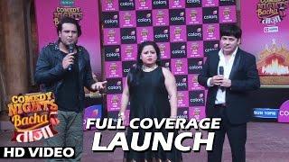 getlinkyoutube.com-Comedy Nights Bachao Taaza New Season Launch | Full Video HD | Krushna, Sudesh, Bharti & More...