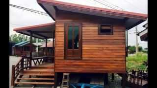 getlinkyoutube.com-บ้านไม้แบบไทยๆ