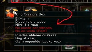 King Creature box  Ex Item Rakion