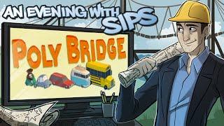 getlinkyoutube.com-Poly Bridge - An Evening With Sips