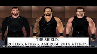 getlinkyoutube.com-How to create The Shield in SvR 2011 PS2