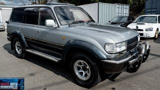 getlinkyoutube.com-Walk Around - 1994 Toyota Landcruiser 80 Series (HDJ81) 4.2TD VX LTD - Japanese Car Auction