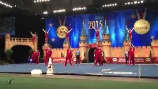 2015 University of Alabama Cheerleaders CO-ED Winning Performance National CheerleadIng Championship