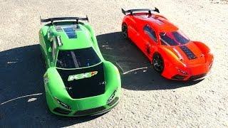 getlinkyoutube.com-RC ADVENTURES - Learning to race TRAXXAS XO-1 SUPER CARS (Locked)
