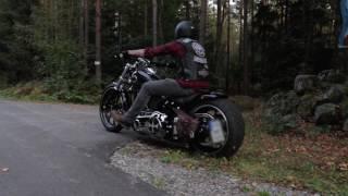 getlinkyoutube.com-Harley Davidson Breakout FXSB Custom Rideout