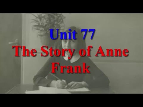 Unit 77 The Story of Anne Frank | Learn English via Listening Level 4