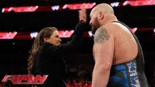 getlinkyoutube.com-Stephanie McMahon fires Big Show: Raw, Oct. 7, 2013