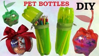 getlinkyoutube.com-10 DIY Creative Ways to Reuse / Recycle Plastic Bottles part 1