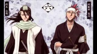 getlinkyoutube.com-Kuchiki Byakuya & Abarai Renji - Sen no Yoru wo Koete w/Lyrics