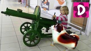 getlinkyoutube.com-✿ VLOG Собачка Шарик Диана Гуляет с Новым Другом Shopping in kids toys store