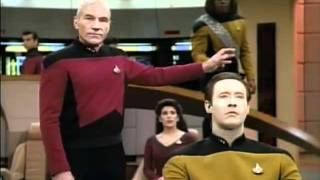 getlinkyoutube.com-Worf gets DENIED again and again on Star Trek TNG.