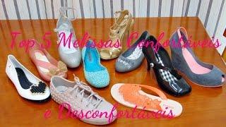 getlinkyoutube.com-Top 5: Melissas Confortáveis e Desconfortáveis