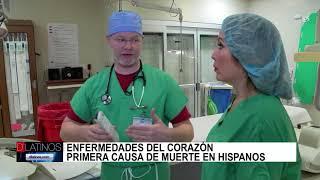Enfermedades del corazón, 1ra. causa de muerte en hispanos