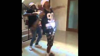 "Chris Brown ""Milly Rock"" dance"