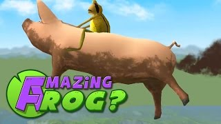 getlinkyoutube.com-Amazing Frog Gameplay - FLYING PIG - Part 9 | Pungence