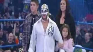 getlinkyoutube.com-CM Punk confronts Rey Mysterio and his family on SmackDown 03/12/2010 HQ