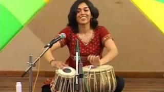 getlinkyoutube.com-Heena Tabla Solo Pt 1 (1 Yr Later) - Female Tabla Player Delhi Gharana Compositions