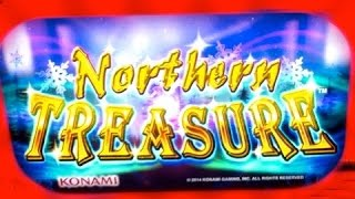 getlinkyoutube.com-BIG WIN Northern Treasure Slot -Konami