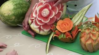 getlinkyoutube.com-Fruit Carving by Miguel.mp4