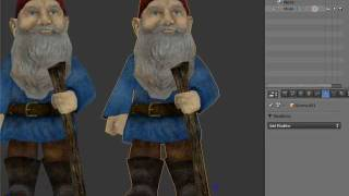 getlinkyoutube.com-Blender 2.5 Making a model low poly and baking textures onto it.