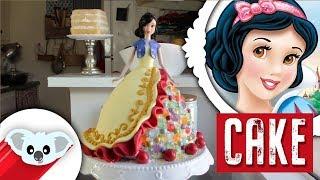 getlinkyoutube.com-Snow White | Doll Cake | Disney Princess