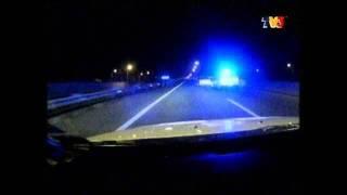 getlinkyoutube.com-Malaysian police Evo10 chasing proton satria GTi and proton wira. (TEAM MPV ELIT)