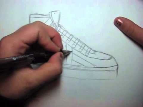 How to Draw Manga Shoes: Sneakers