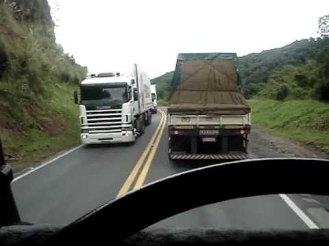 Scania 113H na Serra do Espigão - SC