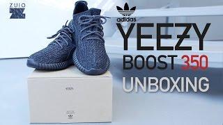 "getlinkyoutube.com-Adidas Yeezy Boost 350 ""Pirate Black"" - UNBOXING"