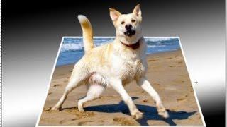 Tutorial Photoshop: Como convertir una foto normal en 3d