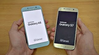 getlinkyoutube.com-Samsung Galaxy A5 (2017) vs Galaxy S7 - Speed Test! (4K)