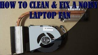getlinkyoutube.com-How to Clean & Fix a Noisy Laptop Fan