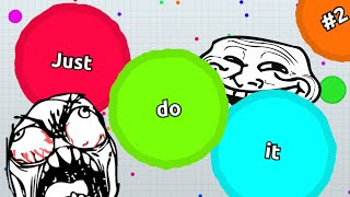 JUST DO IT #2 // Agario TROLLING // Teammode Trolling