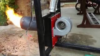 getlinkyoutube.com-Homemade Pellet burner! ΚΑΥΣΤΗΡΑΣ PELLET 2