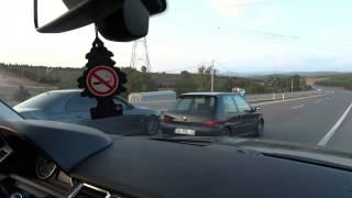 getlinkyoutube.com-BMW E39 M5 ''440 BHP'' vs PEUGEOT 106 GTI ''200 BHP''  ''rolling''  **GG vs ROL**