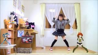 getlinkyoutube.com-【ひま+MMD】モザイクロール【踊ってみた】