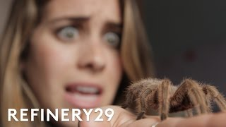 5 Days Of Facing My Worst Fears . . . Bug Eating Challenge | Try Living With Lucie | Refinery29