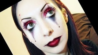 getlinkyoutube.com-Trucco Carnevale clown o joker | Beautydea
