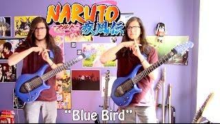 """getlinkyoutube.com-Naruto: Shippuden Opening 3 -""""Blue Bird  (ブルーバード)"""" by Ikimonogakari 【Band Cover】"""