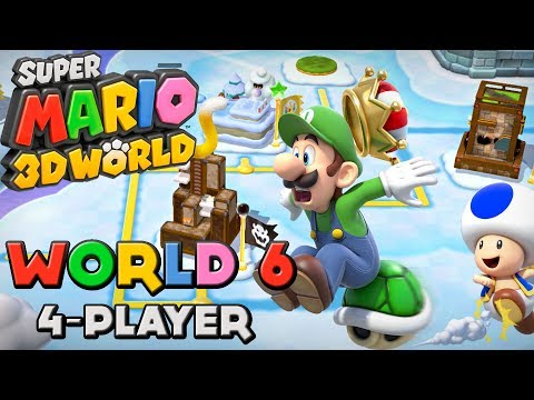 Super Mario 3d World - World 6 4-player