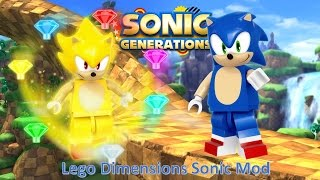 Sonic Generations Mod Part 91_ Lego Dimensions Sonic Mod