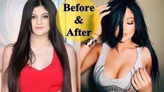 getlinkyoutube.com-The Amazing Transformation of Kylie Jenner