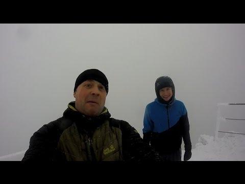 зимний галичский BASE jumping (raw)