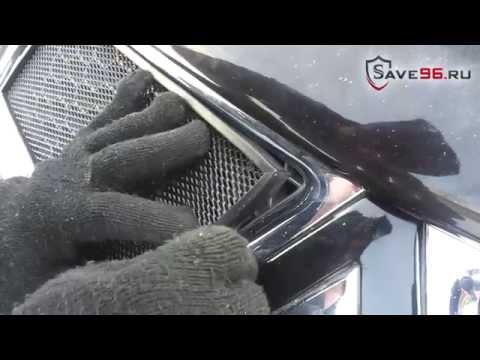 Защита радиатора на Mitsubishi L200 4 (Митсубиси Л г.в.
