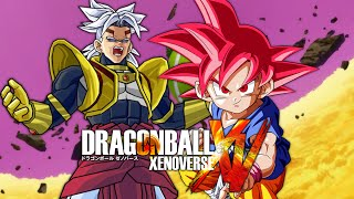 getlinkyoutube.com-Baby Broly VS SSGSS Kid Goku | Dragon Ball Xenoverse MODS (Duels)