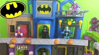 getlinkyoutube.com-DC Superhero Imaginext Batman Gotham City Playset W/ Joker, Mr.Freeze