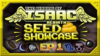 getlinkyoutube.com-Binding Of Isaac: Rebirth - SEED SHOWCASE - Top Seeds! - Episode 1 - Daddy Long Legs, Monstro's Lung